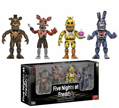 """Funko Five Nights at Freddy's: Four Pack 2"""" Figures - Nightmare Edition 13722"""