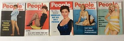 People Today Magazine Lot of 5 (1955)