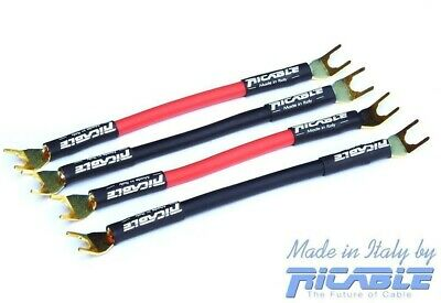 Ricable Supreme Bdg Bridge Set 4Pz Ponticelli Hi End Con Forcelle Nuovi Garanzia