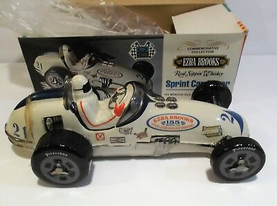 1971 EZRA Brooks Indy 500 Race Car #21 Decanter empty with box