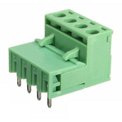 10x 2EDG 4Pin 5.08mm Plug-in Screw Terminal Block Connector Right Angle Q8C I4D8