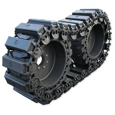 Prowler 12 Inch Fusion Rubber Skid Steer Over The Tire Tracks - OTT, 12x16.5