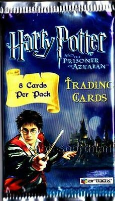 Harry Potter Prisoner Of Azkaban Trading Cards Retail Pack