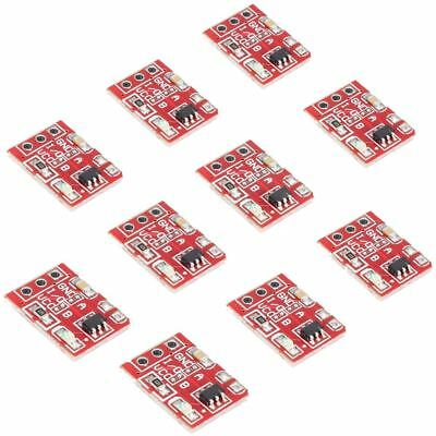 3X(10 Pcs TTP223 Capacitive Touch Switch Button Self-Lock Module For Arduin H2R5