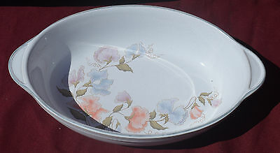 "Denby ""encore/dauphine"" Oval Roaster/serving Dish   With Handles"