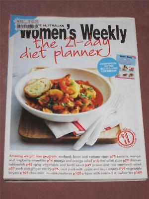 Australian Womens Weekly Cookbook Cooking,  21 Day Diet Planner , Recipes