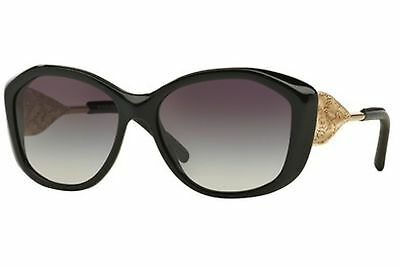 Burberry 4208Q 30018G Women's, Black Frame, Gray Gradient 57mm Lenses