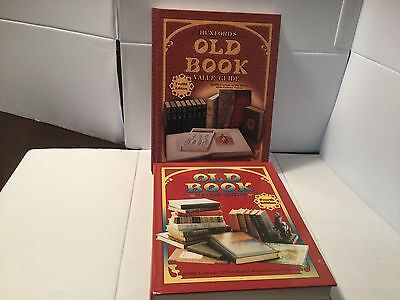 Huxfords Old Book Value Guide 4th Edition & 12th Edition