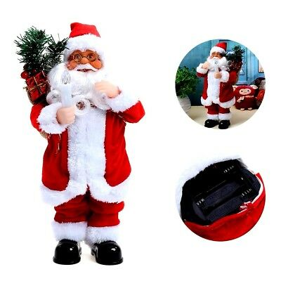 Animated Singing Dancing Santa Claus Doll Electric Christmas New Year Ornaments