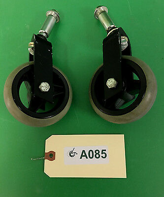 Anti-Tip Wheels & Forks for Quickie 646 Power Wheelchair  #A085