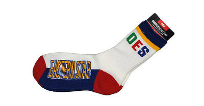 Order of the Eastern Star OES Socks-New!