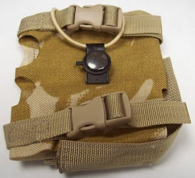 NEW - RARE Desert Camo PRR Bowman Personal Role Radio Pouch - Genuine Issue IRAQ