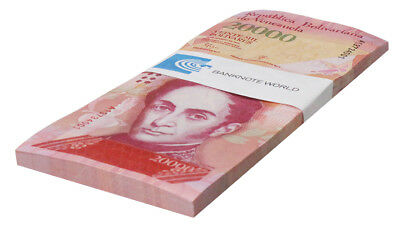 Venezuela 20,000 (20000) Bolivares X 50 Pieces, 2016, P-NEW, UNC, Half Bundle