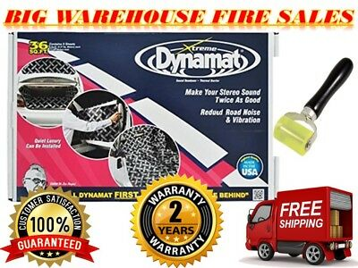 Original brand new Dynamat 10455 Xtreme Bulk Pack 36 SQ FT (9 Sheets) FREE ROLLE
