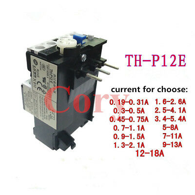 1PCS Thermal Overload Relay AC 220-380V Auto To Reset 3 Pole 1NO 1NC US not used