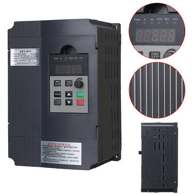 2.2KW 3HP Single Phase Variable Frequency Drive Inverter VSD VFD AUS PWM Control