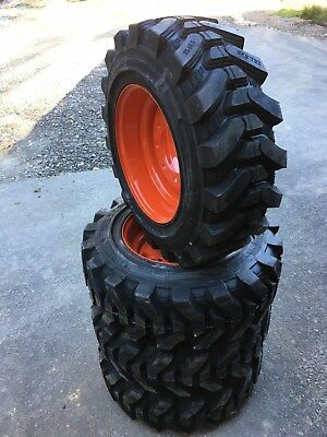 4-10-16.5 HD Skid Steer Tires for Bobcat-Camso SKS732-10X16.5-HEAVY DUTY 29/32nd