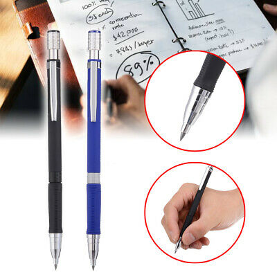 2mm 2B Lead Holder Pen Automatic Mechanical Drafting Draughting Pencil Art Tools