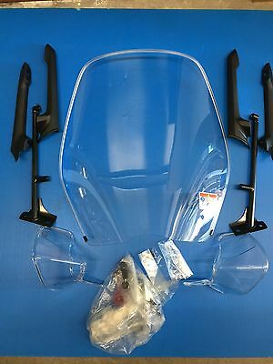 Kit Paravento Paramani Windshield Knuckle Visor Sh 125 150 Dal 12 Al 16 Nuovo
