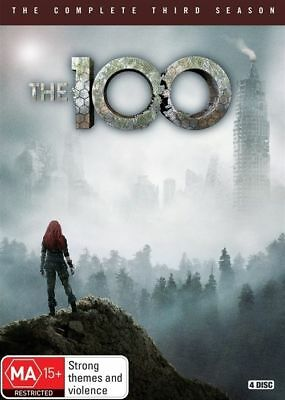 The 100 : Season 3 (DVD, 2016, 4-Disc Set) (Region 4) Aussie Release