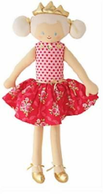 Princess Doll Red Floral Alimrose Designs NEW Baby Safe 50cm / 20 inches long