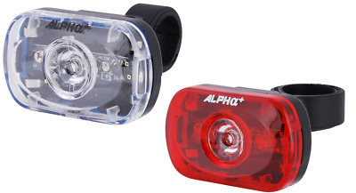 Inc Tracked Courier Alpha Plus AP1007R Rear Mudguard Mount LED Rear Bike Light