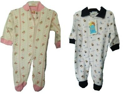 Unisex Sleepsuits Boys Newborn-12 months Ex M/&S Soft and comfortable Girls