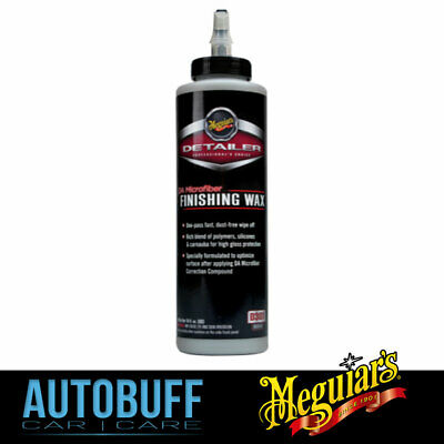 Meguiars DA Microfiber Finishing Wax, D30116, 473ml (16oz)