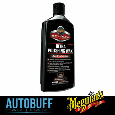 Meguiars Ultra Polishing Wax, D16616, 473ml (16oz)