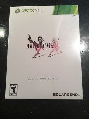 Final Fantasy XIII-2 (Collector's Edition)  (Xbox 360) Brand New Factory Sealed