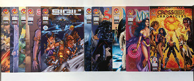 lot 10 Comics VF Crossgen  Semic Scion Mystic Sigil