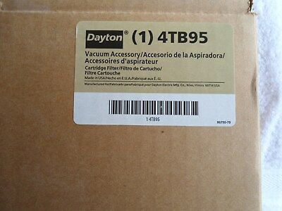 NIB Dayton Cartridge Filter      4TB95