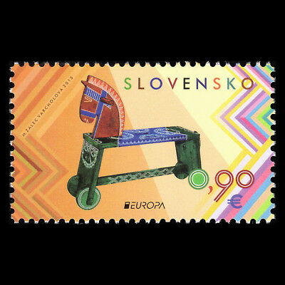 """Slovakia 2015 - EUROPA Stamps """"Old Toys"""" - Sc 715 MNH"""