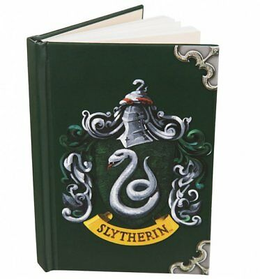 Official Harry Potter Slytherin Crest A6 Notebook