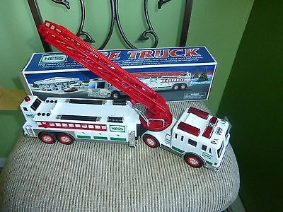 Hess Fire Truck 2000, Lot of 2, NIB
