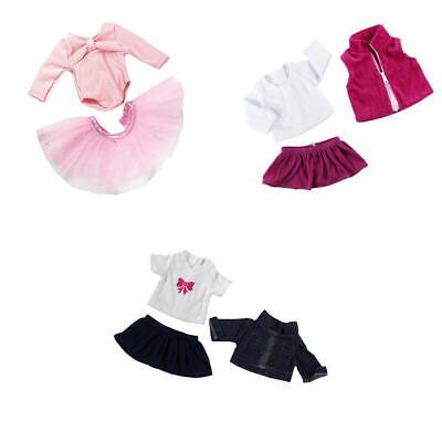 3SUITS KLEIDUNG FÜR 18 \'\' American Girl Puppen Ballettkleid Rock ...