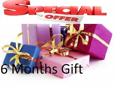 6 months gift for openbox v8s & zgemm  vu amiko  Very reliable Quick Dispatch