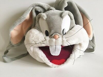 1996 Bugs Bunny Looney Tunes Six Flags Plush Back Pack