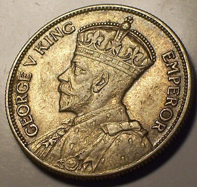 British Rhodesia, 1932 George V Two Shillings, 2 Shillings. 498,000 Mintage.
