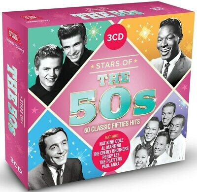 Stars of the 50s - Various Artists (Box Set) [CD]