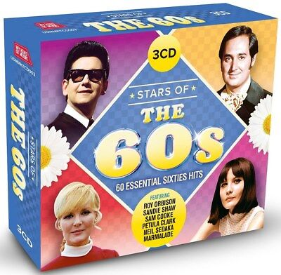 Stars of the 60s - Various Artists (Box Set) [CD]