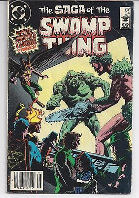 Saga of the Swamp Thing 12,24,52,56,57,60,61,140,144 Alan Moore Grant Morrison