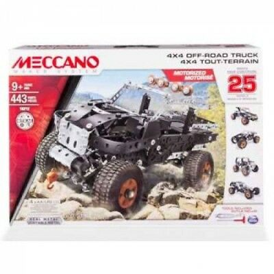 Meccano 4x4 Off-Road Truck - 25 Model