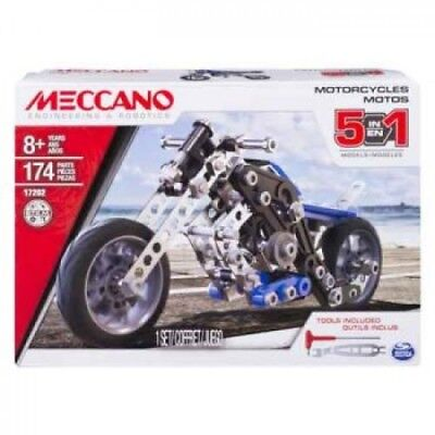 Meccano Motorcycle - 5 Model