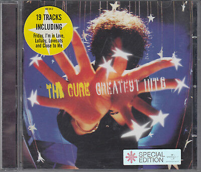 The Cure : Greatest Hits CD FASTPOST