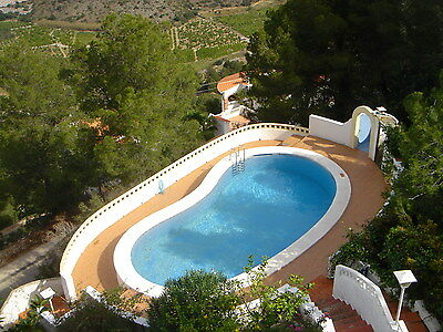 Haus mit Pool und Meerblick / Villa with sea views, Apartment - Oliva, Spanien