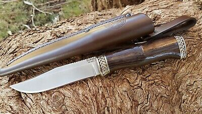 Hunting Knife, ELMAX powder steel, hand made in Pavlovo, Russia