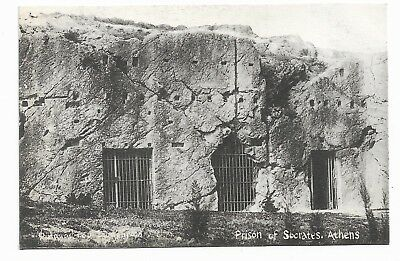Athens Prison of Socrates Early 20th Century Postcard 771B
