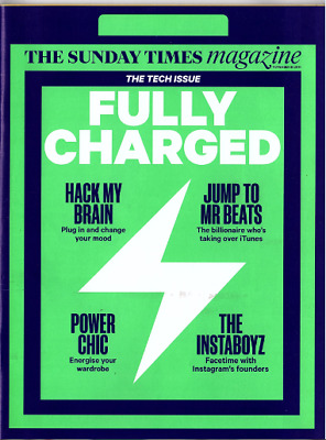 The Sunday Times Magazine. Instagram Founders. 30/11/14.* Multi Item Discounts *
