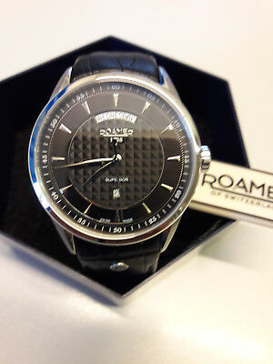 Roamer Herrenuhr Superior Day Date 508293 41 05 05